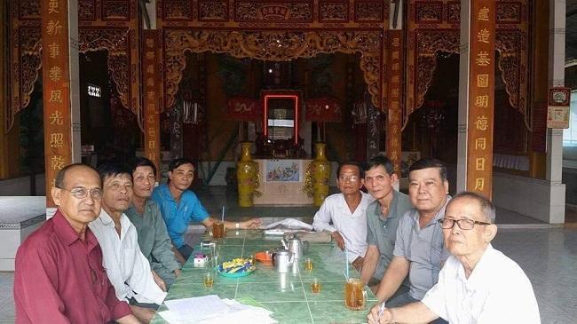 Phủ thờ họ Dương ở xã Vĩnh Lộc huyện An Phú tỉnh An Giang
